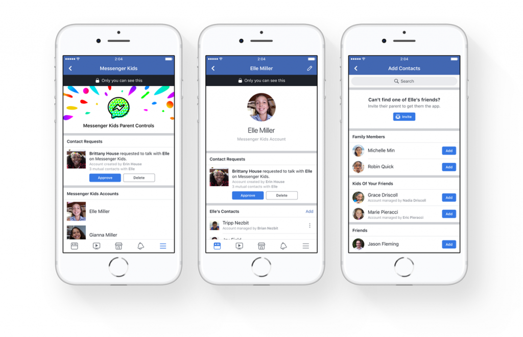 Messenger kids è la nuova app di Facebook per gli under 13