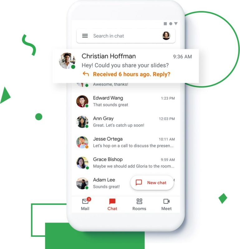 chat room gmail