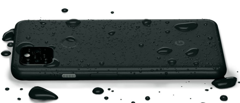 Pixel 5a 5G water resistant