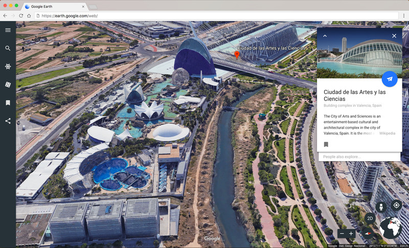 Arriva il nuovo Google Earth per Chrome e dispositivi Android