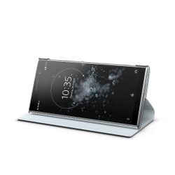 Xperia XA2 Plus_Style Cover Stand_silver
