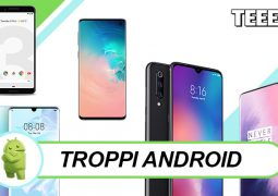 troppi smartphone android