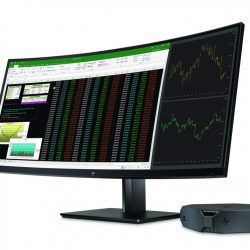 HP Z38c Curved Display with HP Z2 Mini Workstation
