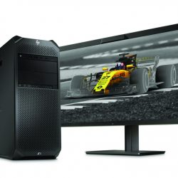 HP Z6 Workstation with HP Z31x Display