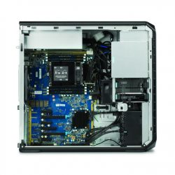 HP Z6 Workstation with inside cover off without memory cooler_C