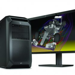 HP Z8 Workstation with HP Z31x Display
