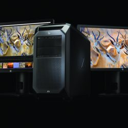 HP Z8 Workstation with dual HP Z27x Displays (2)